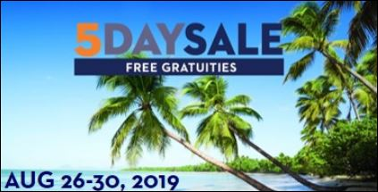 holland america one week sale includes free gratuities