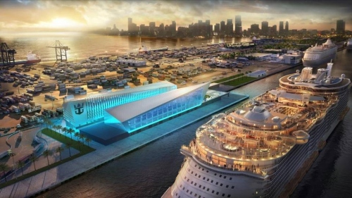 royal caribbean new cruise terminal in miami