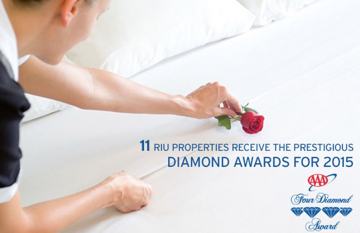 riu resors aaa diamond award